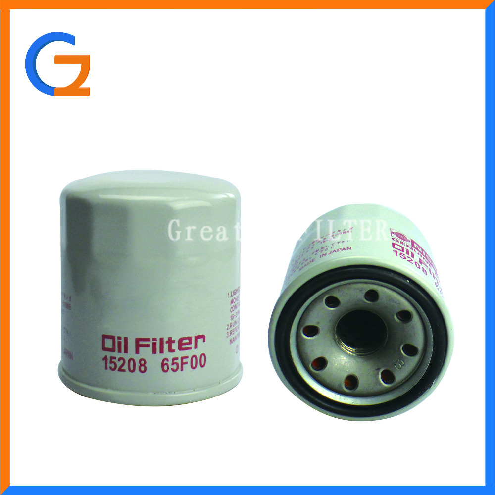Manufacture Selling Best Quality Screw-on Oil Filter fit for NISSANS 1520865F00 15208-65F00
