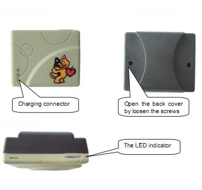 smallest waterproof gps kids tracker with real time web online tracking