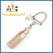 JL-005G Yiwu Jinlin mini size special design Cigar punch with Key Chain Ring