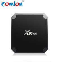 Factory price X96 mini 2GB 16GB 1GB 8GB Android 7.1.2 TV Box 4K Amlogic S905W HD smart tv box