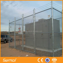 Dog proof chain link fence/1 inch chain link fence/chain link fence panels sale