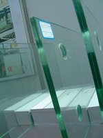 Transparent led glass,lucency armored glass