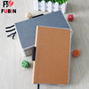 2017 Metal wrapping metal frame edge notebook A6 planner hotsell