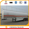 China Chengda trailer manufacture 3 axle 45000L stainless steel oil tank trailer