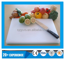 PE Food Grade Perfect High Quality No toxic FDA Certificate Mix Color Multifunctional Cutting Boards with Great Price