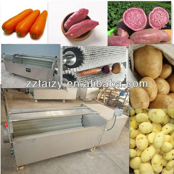 best quality potato washer and peeler/potato washing and peeling machine 0086-13838527397