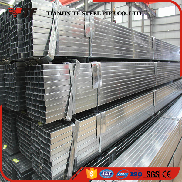 China supplier Hot sale precision electro galvanized square tube