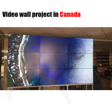 Samsung seamless flexible led video wall with high resolution