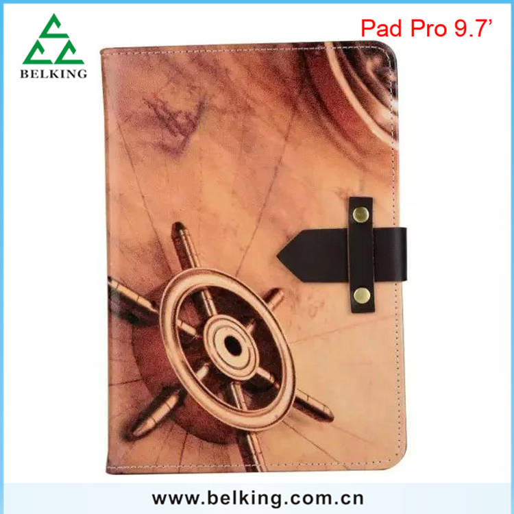 "For iPad Pro 9.7"" vintage leather case for New iPad Pro"