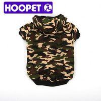 Popular camouflage dog coat couture dog clothes