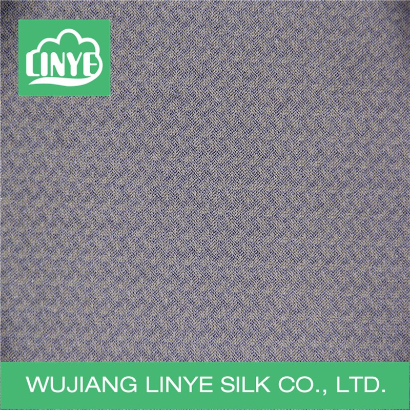100% polyester warp knitting tricot lining plain fabric for garment