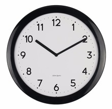 ultra-thin design cheap promotional plastic silent wall clock