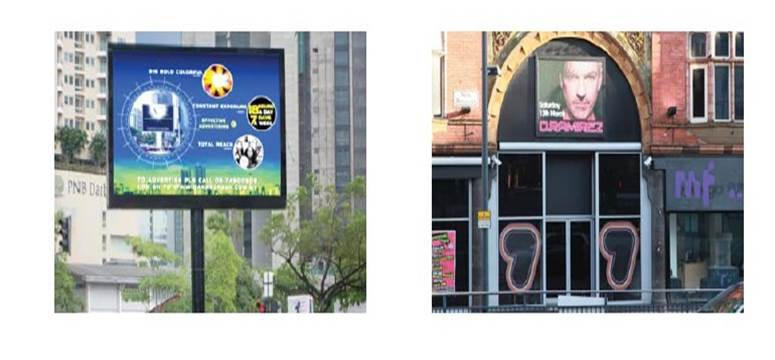 P6 P7 outdoor smd billboard led display 3d led screen outdoor