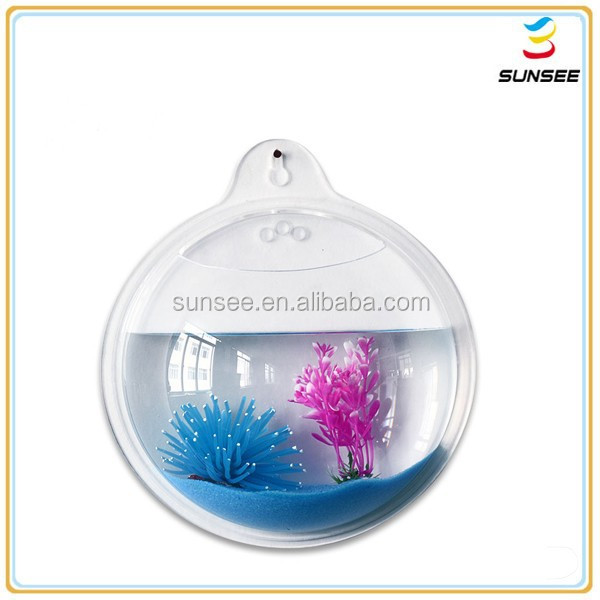 New fashionable Best Selling hot style cheap acrylic toy fish aquarium with round shape