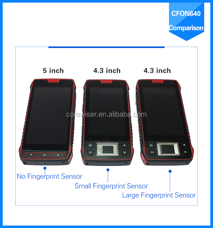 COREWISE Manufacture varies terminals integrated with NFC biometric fingerprint sensor, barcode scanner, rfid fingerprint reader