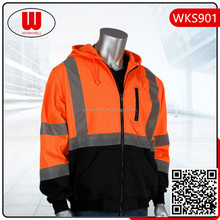 High Visibility two tone color hoody jacket