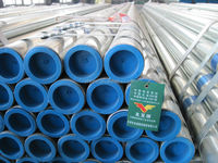 good price hot dip galvanized liquid pipe with threaded end/gi pipe