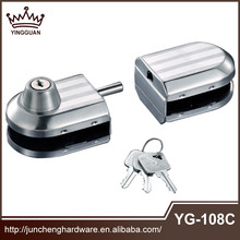 2015 best quality glass shower Door Lock