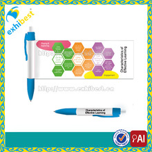Cheap customized logo advertising banner pen supplier