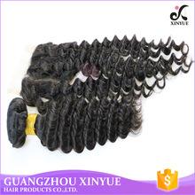 human hair factory Unprocessed Deep Wave lace closure tangle free hot style in market with competitive price