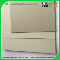 Chip board/grey board/Laminated gray board single side craft paper roll/sheet