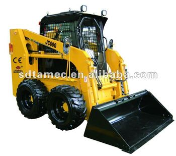 JC60G skid loader,china bobcat,engine power 60hp, loading capacity 850kg