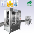 4 filling heads automatic grade oil filling machine