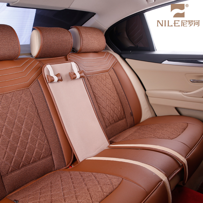 Four Seasons Leather Surrounded Car Seat Cover For Fortuner Axio Allion Hiace