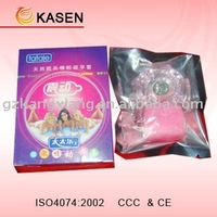 Passion max latex ribbed vibrating condom