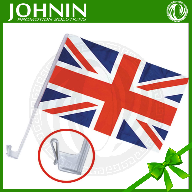 Union Jack Car Flag British 12 by 18