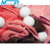 Masterpiece XL Wool Dryer Balls made from 100% New Zealand Wool (6 Pack) Reusable All-Natural Fabric Softener