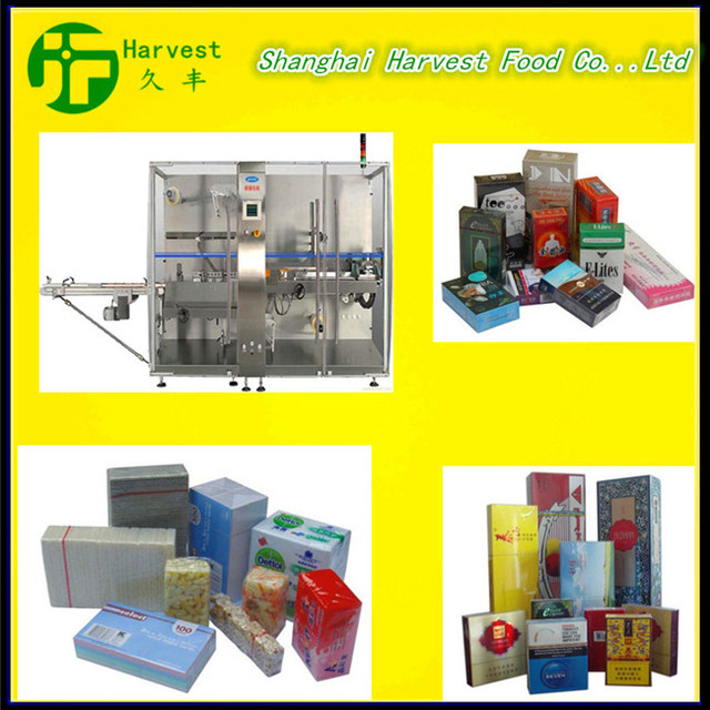 professional BTB-300A Automatic cigarettes cellophane wrapping machine