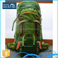Made in china alibaba 8393 65L custom backpack manufacturer for brand name