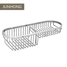 Cheap wholesale 304 stainless steel Accessories bathroom wire storage hanging basket