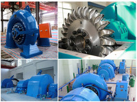 Small Water turbine generator unit / Hydro power plant EPC project / Micro Hydro Turbine