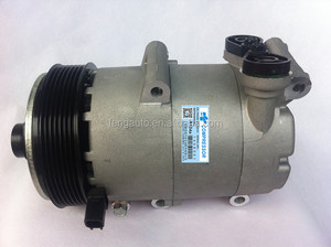 Auto air conditioning compressor VS16 PV7 for Ford TRANSIT Bus 2.4