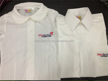 Girls boys shirts school uniform shirts white schools shirts for kids