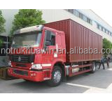 China 4*2 Mini Box Van Truck HOWO Brand