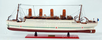 Ss Britannic (L80) . New! ! Summer Season Wooden Model Cruise Ships