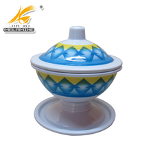 2017 Melamine Candy Bowl With Lid And Stand From China
