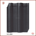 Hot Sale Black Glazed Ceramic Tile Clay Roof Tiles for Sale
