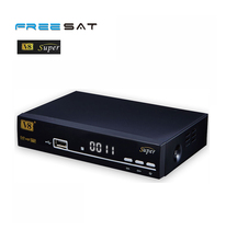 2017Newest FTA HD Satellite Receiver dvb-s2 mpeg4 hd decoders freesat v8 super with TV scart for middle east