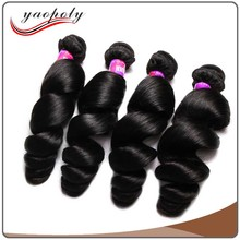 Factory price top quality loose curly hair extensions best selling loose wave brazilian human hair weaving