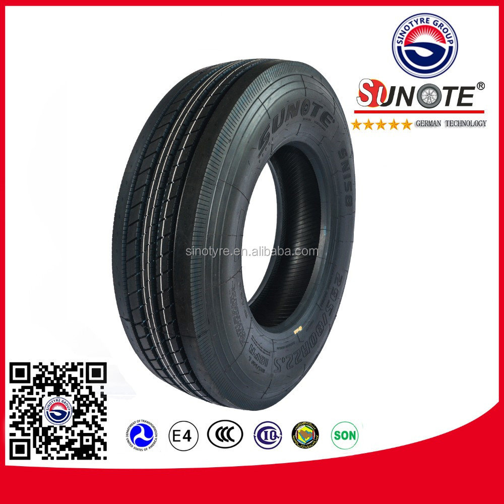 chinese qingdao truck tires 1200x24 11r 22.5 295/80/22.5