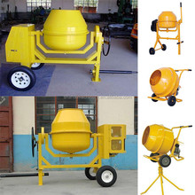China 400 Liter drum casted gear ring concrete mixer/CM350 portable mini cement mixer made in China