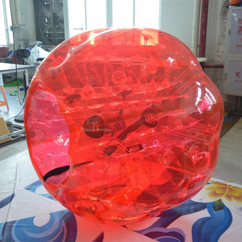 Wholesale outdoor football inflatable body bubble ball TB147