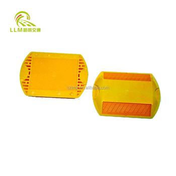 two way reflective plastic raised pavement marker
