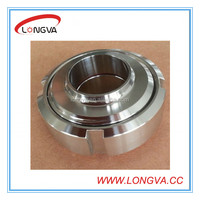 stainless steel sanitary pipe fittings union for food grade 304 316L