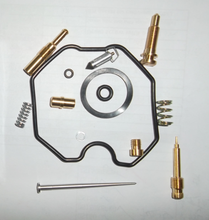 Repair rebuild kits for TITAN 150cc carburetor carb motorcycle engine parts with float needle plunger slow and main jet pilot