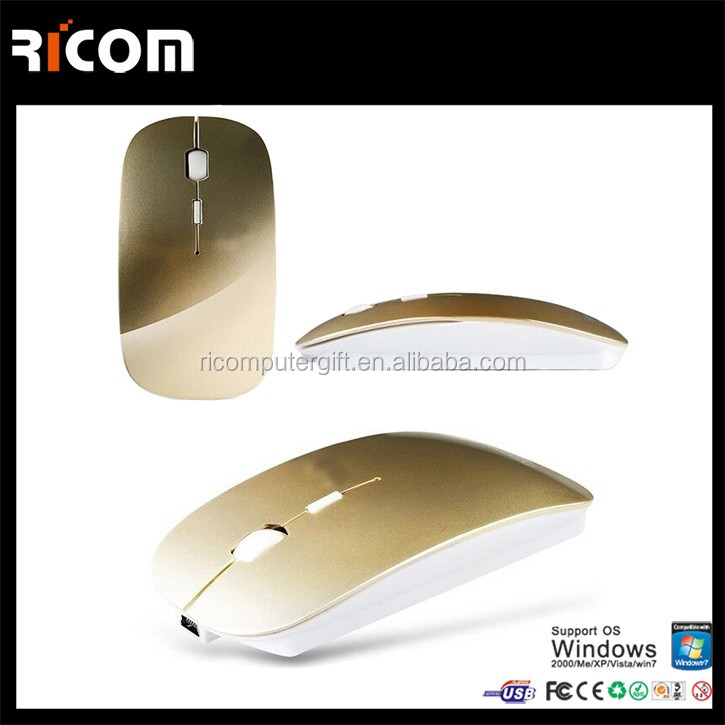 high quality slim bluetooth mouse,bluetooth magic mouse,rechargeable bluetooth mouse from Shenzhen Ricom BM8003
